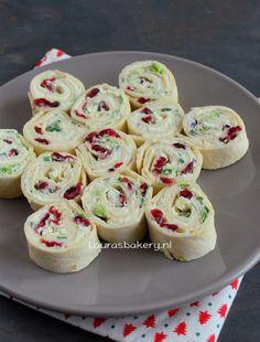 Cranberry feta wraps - Laura's Bakery