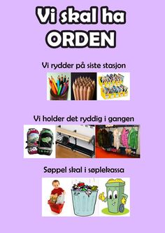 Ida_Madeleine_Heen_Aaland uploaded this image to 'Ida Madeleine Heen Aaland/Plakater -regler-'. See the album on Photobucket. Toddler Preschool, Toddler Activities, Learning Activities, Green Crafts For Kids, Summer Camp Crafts, Teaching Kids, Kids Learning, Alphabet Bingo, Norway Language