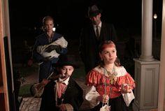 The Draper family on Halloween night, Season 3, Ep. 11