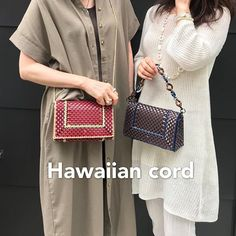 Images about #ハワイアンコードのバッグ on Instagram Chanel Boy Bag, Shoulder Bag, Bags, Instagram, Craft Bags, Handbags, Shoulder Bags, Taschen, Purse