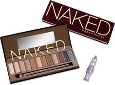 Naked by Urban Decay - Best eyeshadow palette ever! Available at Sephora and Ulta. Urban Decay, I Love Makeup, Beauty Makeup, Eye Makeup, Night Makeup, Makeup Stuff, Mally Beauty, Hair Beauty, Awesome Makeup