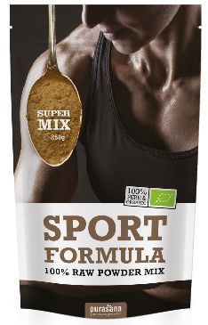 purasana SPORT FORMULA Super Mix 100 % Raw Powder 250 Gramm