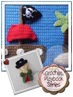 Creative Crochet Workshop: My Crochet Pirate Playbook Part Five