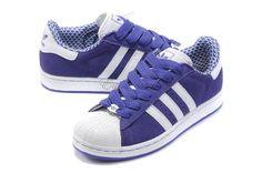 purple adidas superstar 2