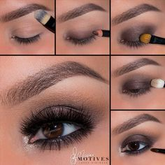 Motives by Loren Ridinger is a trusted name in makeup, skin care, and body care. Shop securely online for your favorite cosmetics and beauty products. Eyebrow Makeup Tips, Makeup Eye Looks, Eye Makeup Steps, Beautiful Eye Makeup, Sexy Makeup, Cute Makeup, Makeup For Brown Eyes, Smokey Eye Makeup, Eyeshadow Makeup