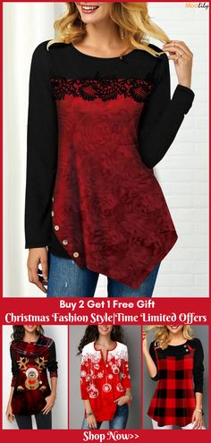 Trendy Tops For Women, Fashion Patterns, Christmas Fashion, Summer Treats, Classy Dress, Christmas Decorations, Faces, Blouses, Romantic