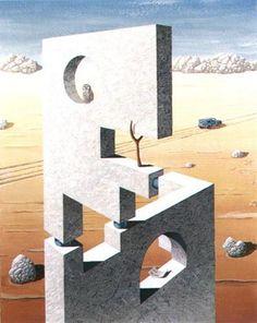 Perspective Illusion by Jos de Mey