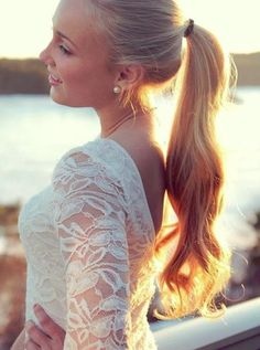 Giddy Up Ponytail... lush and long classic style