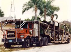 Brockway car hauler by PAcarhauler, via Flickr