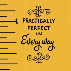 practically perfect in everyway Art Print