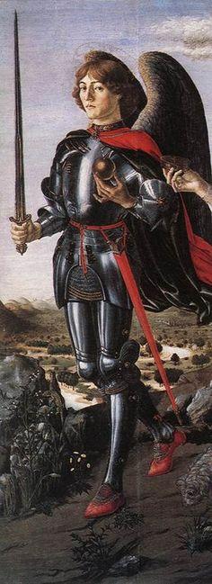 Francesco BOTTICINI, Michel Archange, 1470