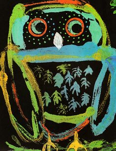 A Firefly Named Torchy written illustrated by Bernard Waber Owl Art, Bird Art, Art Activities For Kids, Art For Kids, Graphic Design Illustration, Illustration Art, Vintage Illustrations, Whimsical Owl, Animal Art Projects