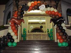 arcos de baloes de festas cautry - Pesquisa Google