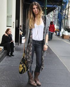 Winter Layering – Street Fashion Showing Layered Looks for 2010 - ELLE
