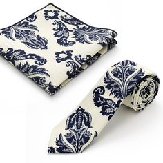 Avery Necktie And Pocket Square