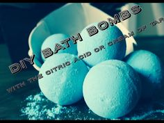 DIY bath bombs without citric acid or cream of tartar - YouTube