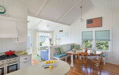 Peek inside this charming beach bungalow with a laid back vibe