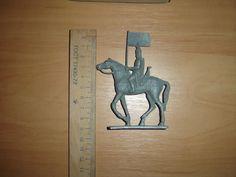 "Soviet Russian Vintage TIN TOY Soldier cavalry ""Ice Battle"" NEW metal ussr | eBay"