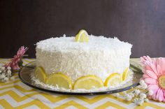 Healthy Easter Dinner Menu From Appetizers to Dessert Lemon And Coconut Cake, Cake Calories, Buttercream Wedding Cake, Angel Food Cake, Easter Dinner, Cake Ingredients, Easter Recipes, Yummy Cakes, No Bake Cake