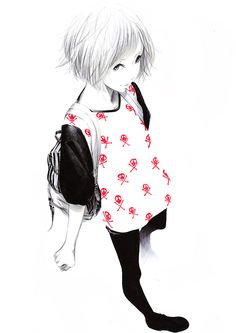 Anime casual outfit