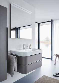 Happy D.2 | Duravitsink-vanity combo, see Happy D line from Duravit for matching toilet