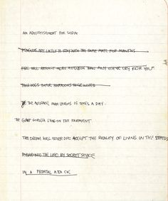 From his famous canvases and walls in New York City, Jean-Michel Basquiat has transitioned onto paper. A collection of his innermost thoughts, notes and other small snippets of the artists' mind are on display. Take a peek for yourself.