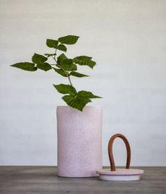 Schöne Vase - leuchtend-grau.de