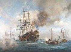 Geoff Hunt. HMS AUGUSTA. J. Russell Jinishian Gallery, Inc.