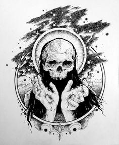 Conjuror by Jesse Schaller, via Behance