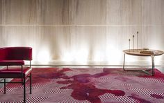 Nexus I, Bloom Collection by Jeff Leatham for Tai Ping Tai Ping presents Bloom, a collection of 14 handmade wool and silk rugs designed in collaboration with Jeff Leatham