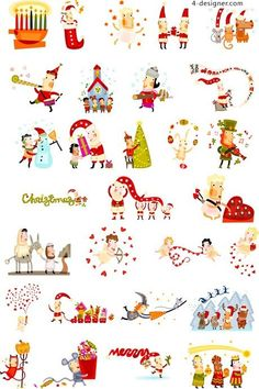 Christmas cute cartoon 01