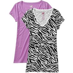 OP Juniors V-Neck Tees 2-Pack