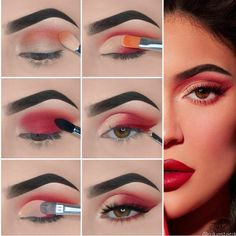 How to apply Natural Eye Makeup Tip Step By Step. How to apply Natural Eye Makeup Tip Step By Step. <br> Are you searching how to do eye makeup at home? If Yes, So here you can find out easy eye makeup tips step by step with pictures. Soft Eye Makeup, 70s Makeup, Makeup Eye Looks, Dramatic Eye Makeup, Eye Makeup Steps, Colorful Eye Makeup, Smokey Eye Makeup, Makeup Art, Makeup Eyeshadow