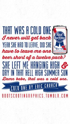 Cold One - Eric Church