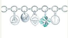 Tiffany & Co. charm bracelet I WANT!!!!!