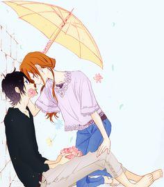 Horimiya - Izumi Miyamura and Hori Kyouko - I love this manga. Relife Anime, Anime Guys, Anime Art, Manga Couple, Kawaii, Horimiya, Cute Anime Wallpaper, Cute Comics, Cute Anime Couples