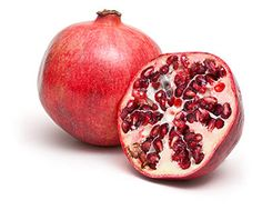 Pomegranate: The hundreds of small, sparkling crimson kernels inside a pomegranate are tart, slightly crunchy, and completely edible—seed and all. To release the kernels with less mess (the juice stains), halve the pomegranate and submerge it in a bowl of water. As you gently pull it apart, the seeds will sink, separating from the bitter pith and membrane that hold them. Use the seeds in green or fruit salads or to top a pudding or a custard pie.