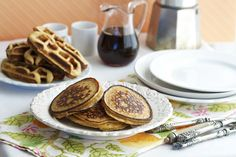 Deliciously Organic's 5 ingredient Grain Free Pancakes or Waffles