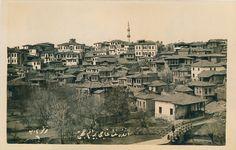 1900'lü yılların başı-Ankara Tren İstasyonu     1900'lü yılların başı-Çubuk Çayı ve Akköprü     1900'lü yılların başı-Julien Sütunu, solu... Paris Skyline, New York Skyline, Once Upon A Time, Istanbul, Nostalgia, History, Train, Pictures, Historia