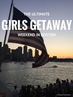 The Ultimate Girls Getaway Weekend in Boston - great suggestions for Boston activities e. Girlfriends Getaway, Girls Getaway, Romantic Weekend Getaways, Romantic Getaway, Weekend Humor, Weekend Trips, Parfait, Boston Activities, Boston Travel