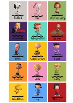 Snoopy & Charlie Brown: Peanuts The Movie by Vitteo on Etsy