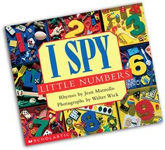 I Spy Little Numbers by Scholastic - $6.30