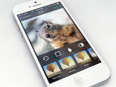 Instagram on iOS 7