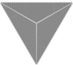 peyote triangle graph paper - Google Search