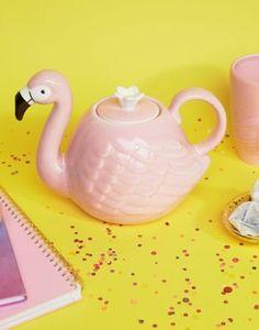 Paperchase Flamingo Tea Pot