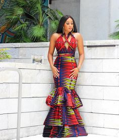 Ankara long gown styles Long Ankara Dresses, Ankara Long Gown Styles, Ankara Styles, Ankara Gowns, Ankara Clothing, African Dress, African Style, African Clothes, African Outfits