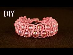Snaky Macramé Bracelet Tutorial - YouTube