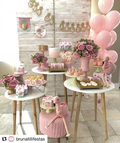 21 Ideas For Baby Shower Party Deko Deco Baby Shower, Girl Shower, Shower Party, Baby Shower Parties, Baby Shower Themes, Bridal Shower, Baby Showers, Decoration Buffet, Deco Buffet
