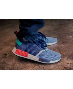 detailed look fc0b4 1c372 Cheap Adidas Originals NMD Primeknit Navy Blue Red Shoe Adidas Nmd  Primeknit, Adidas Nmd R1