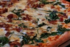 A Pizza Mart - 11p-2a happy hour means slice/shot/beer combos for nine bucks